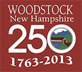 Woodstock New Hampshire 250 Logo